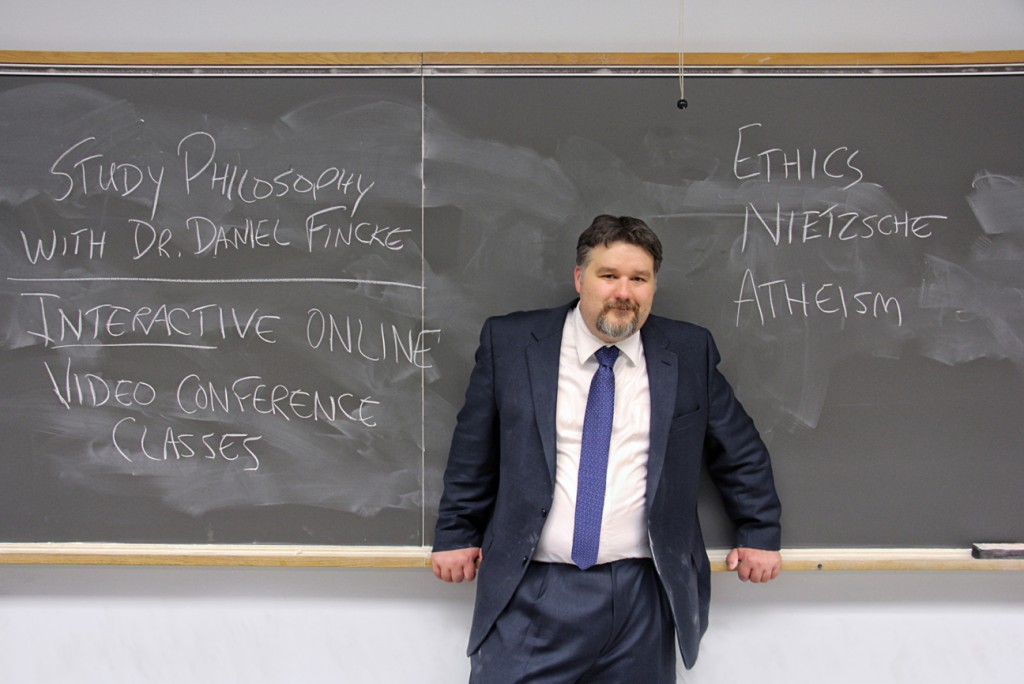 Dr. Daniel Fincke, PhD Interactive Online Philosophy Classes